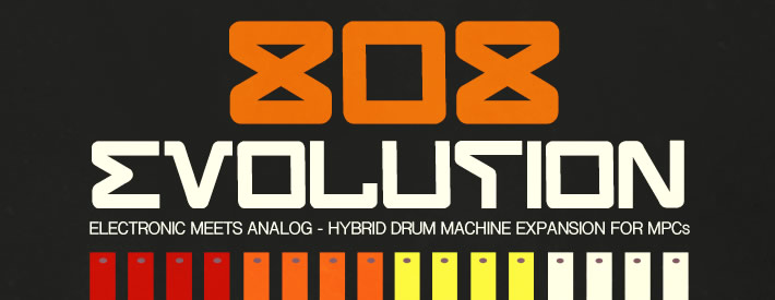 808 Evolution - The Ultimate 808 Kit For MPCs