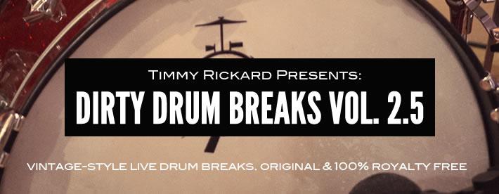 Dirty Drum Breaks Volume 2.5