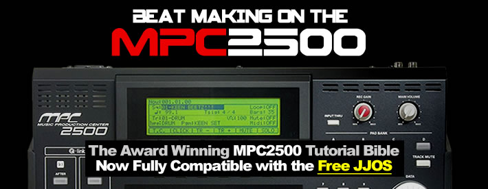 JJOS Support Now Added to 'Beat Making on the MPC2500'