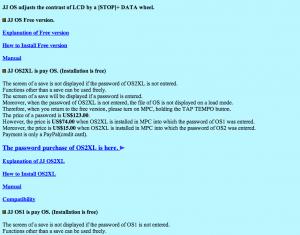 JJOS Manuals & Purchasing Instructions