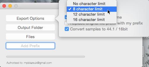 mpblaze file name limit