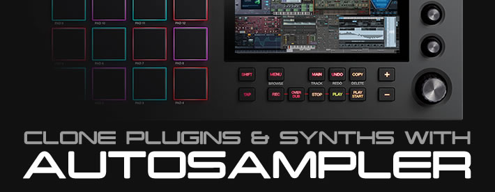 MPC Bible Tutorial: Clone Plugins & Synths with Autosampler
