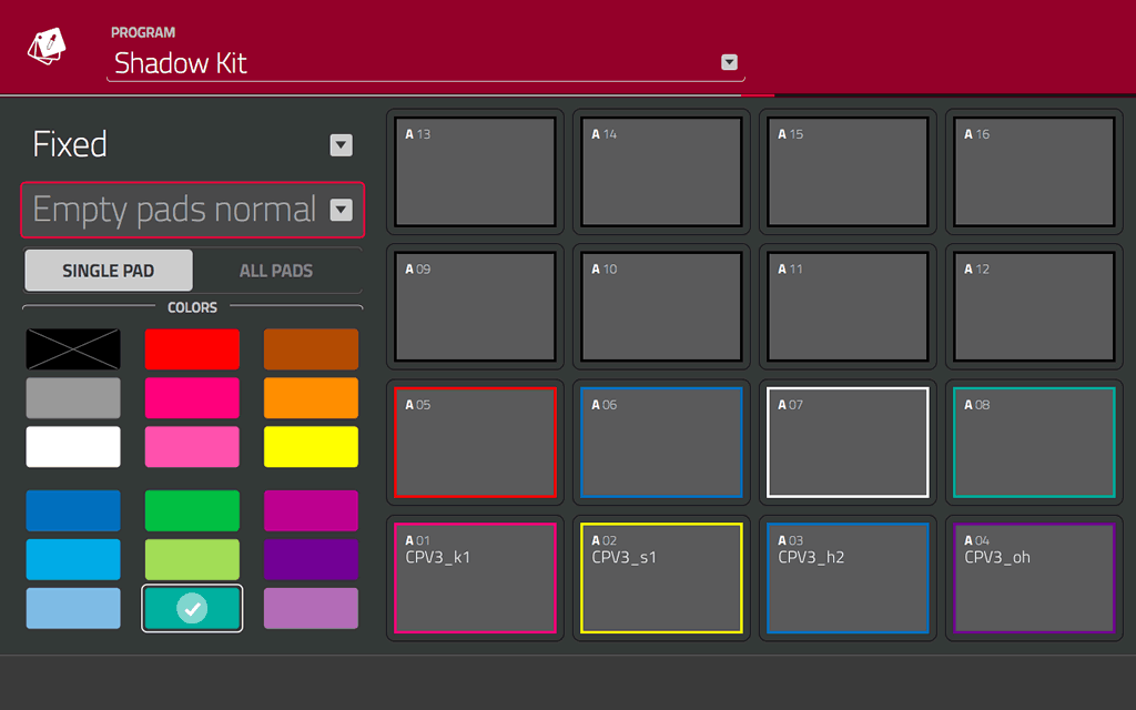 mpc-touch-pad-colors
