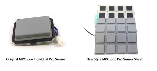 MPC1000 Pad Sensors