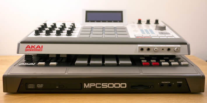 MPC Renaissance vs MPC5000