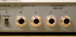 MPC Renaissance Audio Outputs