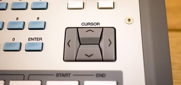MPC Renaissance Cursor & Numeric Keys