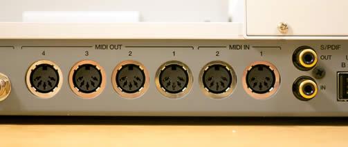 MPC Renaissance MIDI Connectors